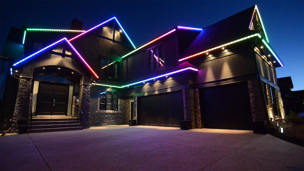 Permanent Christmas Lights.Custom Led Rgb Lighting Solutions In Calgary Heilight
